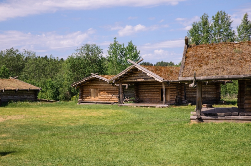 Slavic Village of the 10th Century